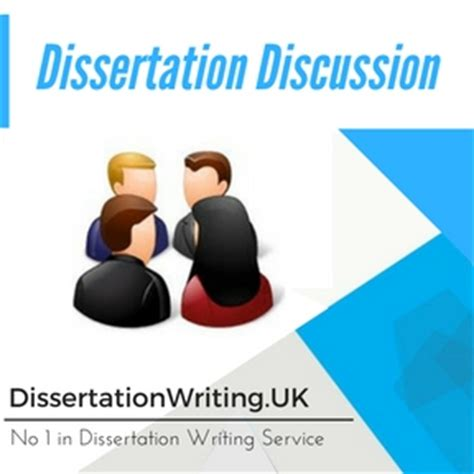 Writing a discussion - How to write your dissertation